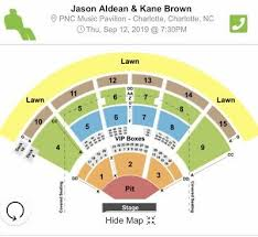 Jason Aldean Kanebrown Tickets Charlotte 9 12 2019 All 3