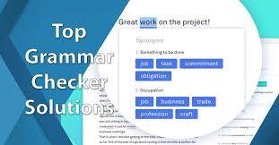 grammar checker solutions