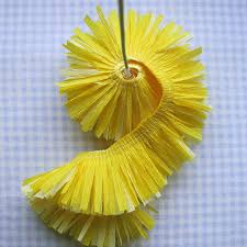How To Make Flower Using Crepe Paper Crepe Paper Flowers Using Streamers And A Ruffler Foot Tutorial