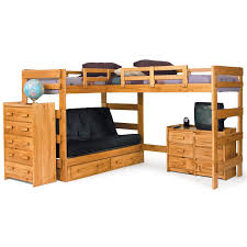 Sofa Bedroom Furniture Bedding Modern Cool Loft Bed With Desk And Couch Bunk Bed With