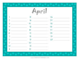 Birthday Reminder Book Template – Gocollab