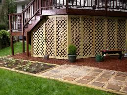 Deck Designs With Storage Underneath Under The Deck Storage Ideas Diy