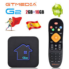 Original Global <b>GTMEDIA G2 Smart TV</b> Box 4K H.265 Android 7.1 ...