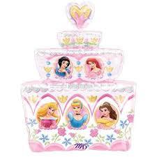28 Disney Princess Birthday Cake Foil Balloon La Balloons