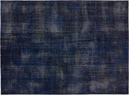 the hill side disintegrated fl blue rug