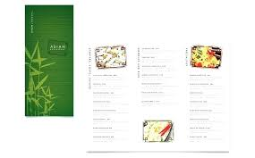 Restaurant Menu Templates Free Word Emailers Co