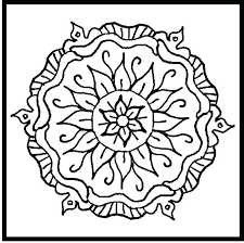 Mandala Coloring Pages Adults Printable Free To Print For Easy