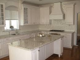 nice modern design galley kitchen off white good white subway tile backsplash with white