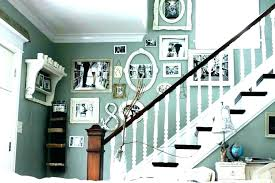 interesting home interior decoration with various staircase wall decor heavenly
