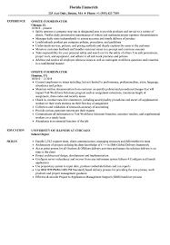 Onsite Coordinator Resume Samples Velvet Jobs