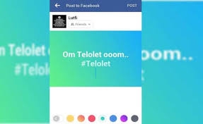 cara membuat status facebook dengan background warna dibelakang 696x426 jpg
