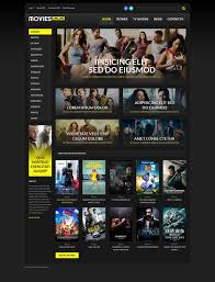 Wordpress Movie Theme Movieline Online Cinema Wordpress Theme 51822 Wordpress