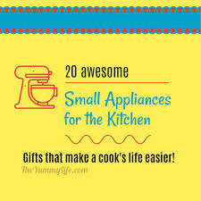 20 Awesome Small Kitchen Appliances