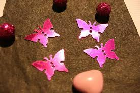 Confetti de table Papillon