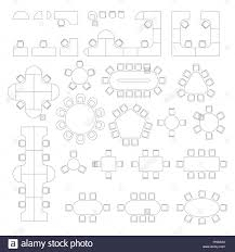 office furniture plans. Office Furniture Line Symbols For Architectural Plans. Plans