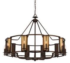 candella ten light chandelier chestnut bronze gold