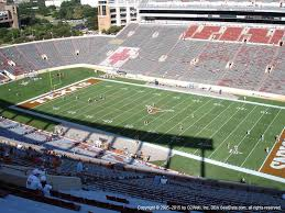 Travis County Expo Center Seating Chart Darrell K Royal Texas Memorial Stadium View From Upper