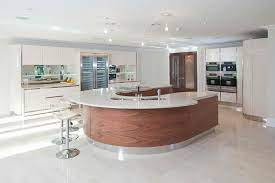 20 Beautiful Curved Kitchen Bars Home Design Lover