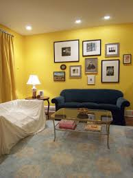 Yellow And Blue Living Room Blue White And Green Color Scheme Moder Sofa Cozy Living Room