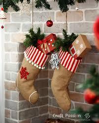stocking burlap