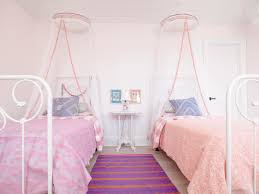 Pink Girls Bedroom Sweet Kids Bedroom For Twin Girls Pink Gucobacom