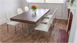 fantastic chunky dark wood dining table glass legs retro designer chairs dark wood dining table with