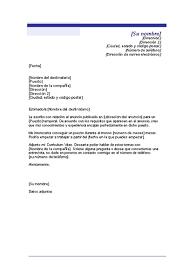 Carta De Presentacion Modelo Modelos De Cartas De Presentacion Y Curriculum Home Cartas De