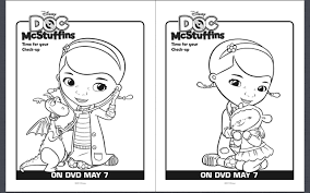 Free Doc Mcstuffins Coloring Pages Futuramame