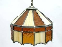stained glass hanging stained glass pendant light vintage flowers fl lampshade art for stained glass hanging