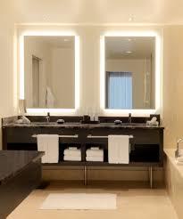 lighting mirror. silhouette lighted mirror at the hyatt olive lighting e