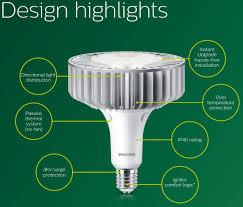 Philips True Light Philips Trueforce Led Highbay Lamp Nd 88w E40 840 120deg