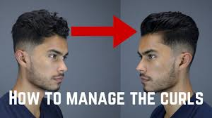 3 Tips Tricks For Guys With Curlywavycoarse Hair Youtube