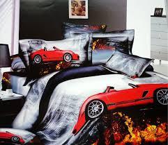 queen size car beds 3d race cars car cotton bedding set queen size bedspread duvet cover