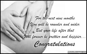 Pregnancy Wishes and Quotes: Congratulations on Getting Pregnant ... via Relatably.com