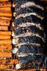 blackened pork ribs