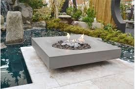 modern zen furniture. modern zen garden with halo fire pit by solus contemporarydeck furniture