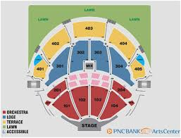 Great Pnc Bank Arts Center Virtual Seating Chart Info