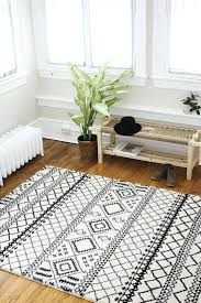 tribal area rug black and white rugs wool