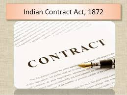 the n contract act   n contract act 1872 1