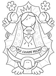 Best Of Our Lady Coloring Page Guadalupe Pdf