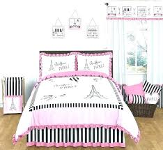 pink and black bed sets modern bedding queen sweet designs full girls set white sheets swe