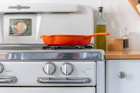 a vintage stove