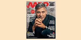 George Clooney covers AARP The Magazine ...