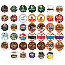 keurig k cups. Perfect Cups Coffee Variety Sampler Pack For Keurig KCup Brewers 40 Count For K Cups Amazoncom