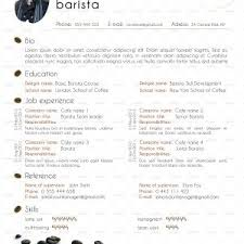 New Barista Cv Examples Uk Starengineering New Bartender Resume ...