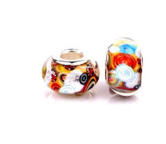 2019 <b>New Arrivals</b> Fashion <b>Big</b> Hole Resin <b>Murano</b> Glass European ...