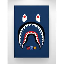bape shark w paper w papersafari