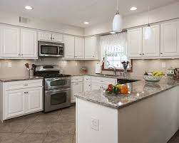 Image Marble White Kitchen Cabinets With Quartz Countertop Kitchen Design Blog Kitchen Magic What Countertop Color Looks Best With White Cabinets