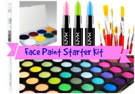 face painting starter kit makeup basics