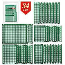 Chanzon <b>34</b> Pcs <b>Double Sided</b> PCB Board Tinned Through Holes (5 ...